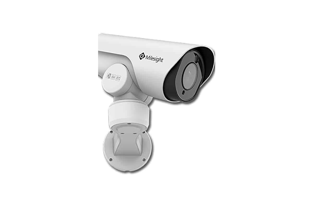 Unsere Produkte, Videotechnik, Kameras, Milesight PTZ-Serie, Foto von Milesight PTZ-Serie Kameras, Schwenkbare Kamera, Hintergrund weiß