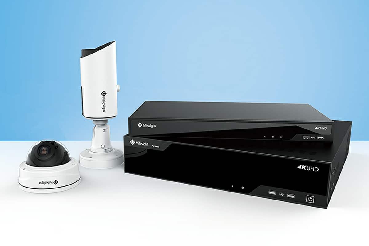 Videoüberwachung, Videotechnik, Video Überwachungssysteme, Milesight Videoüberwachungs Kameras mit Milesight NVR für Videoaufzeichnung